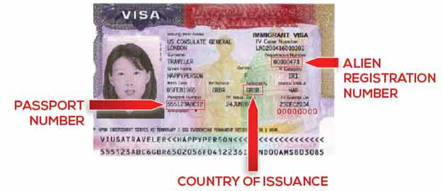 Machine Readable Immigrant Visa with temporary I-551 language