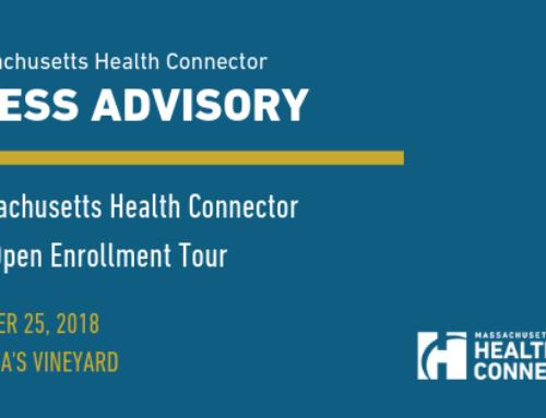 Massachusetts Health Connector Pre-Open Enrollment Tour Visits Martha's Vineyard