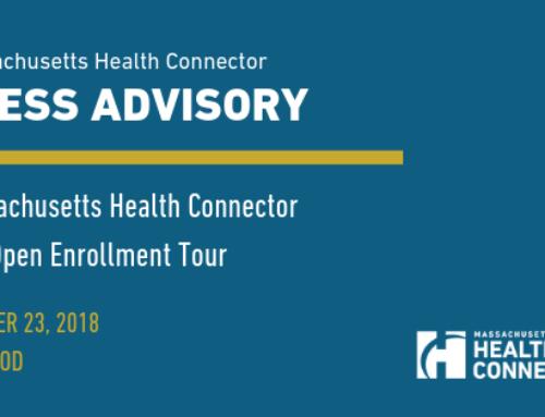 Massachusetts Health Connector Pre-Open Enrollment Tour Visits Cape Cod