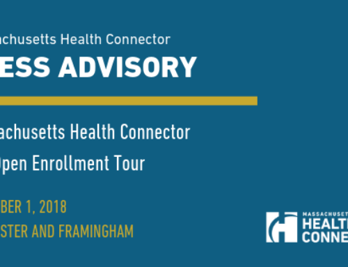 Massachusetts Health Connector Pre-Open Enrollment Tour  Visits Worcester and Framingham
