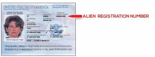 Refugee Travel Document I-571
