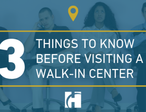 Thinking about visiting a walk-in center? Here are 3 things to know before you go.