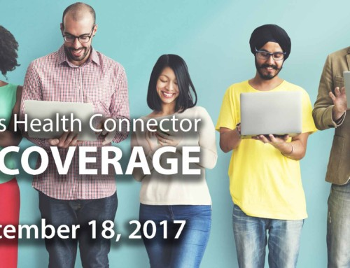 "Join the Massachusetts Health Connector for a ""Day of Coverage"" December 18, 2017"