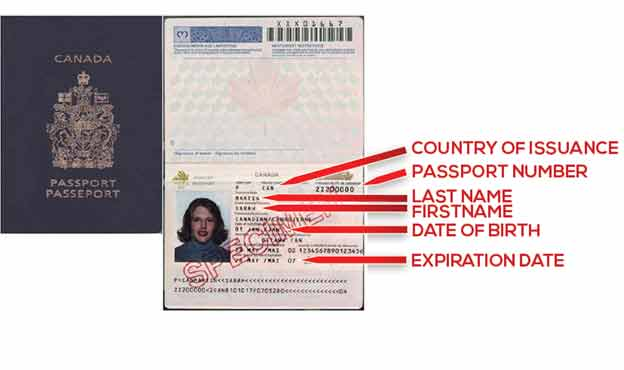 Unexpired foreign passport